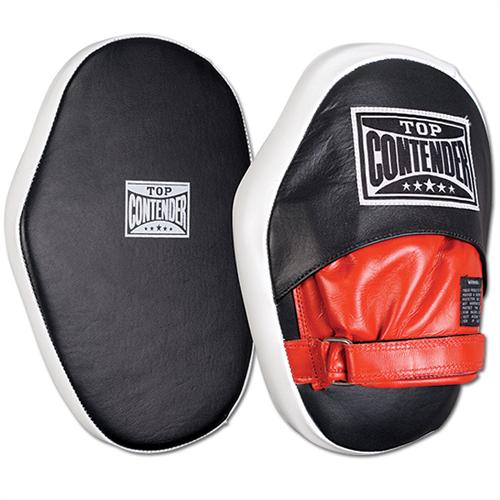 Top Contender Hook & Loop Leather Punch Mitts